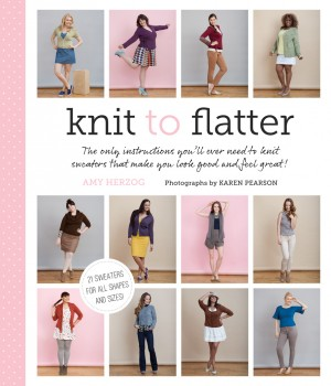 Knit to Flatter by Amy Herzog from Vearsa in Sports & Hobbies category