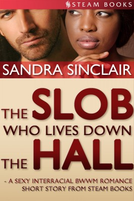 The Slob Who Lives Down the Hall - A Sexy Interracial BWWM Romance Short Story From Steam Books