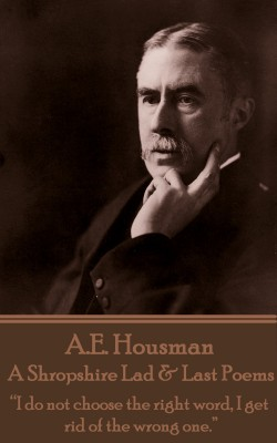 A Shropshire Lad & Last Poems by A.E. Housman from Vearsa in Language & Dictionary category