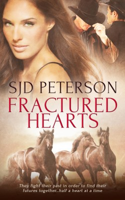 Fractured Hearts by SJD Peterson from Vearsa in Romance category
