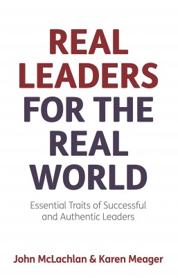 Real Leaders for the Real World by Karen Meager from Vearsa in Motivation category