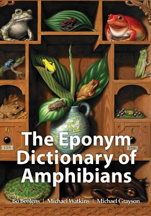 The Eponym Dictionary of Amphibians by Michael Grayson from Vearsa in Language & Dictionary category