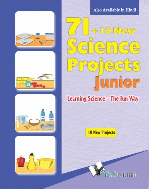71+10 New Science Project Junior (with CD) by Editorial Board from Vearsa in Teen Novel category