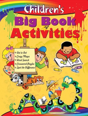 Children's Big Book of Activities by Editorial Board from Vearsa in Children category
