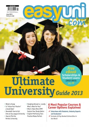 Ultimate University Guide 2013, July Issue