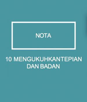 10 MENGUKUHKAN TEPIAN DAN BADAN by WIM from Xentral Methods Sdn Bhd in General Novel category