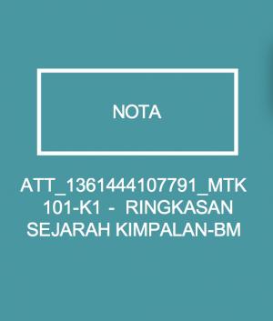 ATT_1361444107791_MTK 101-K1 - RINGKASAN SEJARAH KIMPALAN-BM