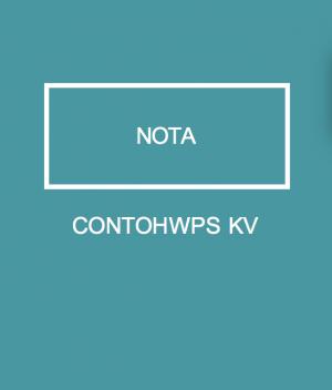 CONTOH WPS KV