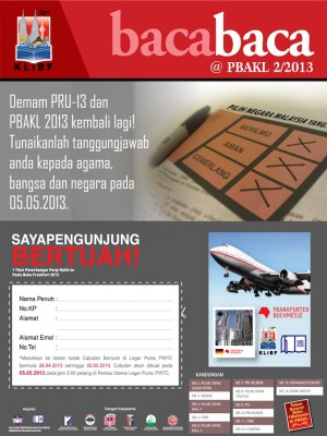 Bacabaca @ PBAKL 2013 - Tabloid Edisi Kedua by MBKM from Xentral Methods Sdn Bhd in Business & Management category