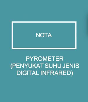 PYROMETER(PENYUKAT SUHU JENIS DIGITAL INFRARED)
