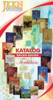 JKKN Katalog 2014 by JKKN from Jabatan Kebudayaan dan Kesenian Negara (JKKN) in Magazine category