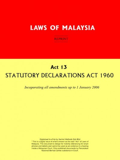 laws of malaysia reprint act 135