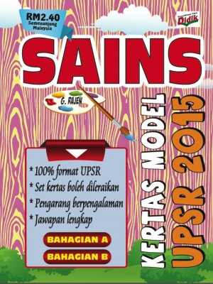 Kertas Model Sains UPSR 2015