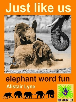 Just Like Us - Baby Elephant Fun by Alistair Lyne from  in  category
