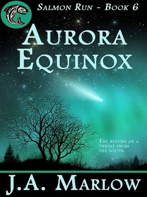 Aurora Equinox (Salmon Run - Book 6) by J.A. Marlow from XinXii - GD Publishing Ltd. & Co. KG in General Novel category