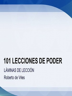 101 Lecciones de Poder by Roberto de Vries from  in  category