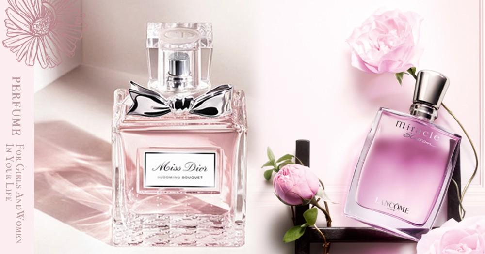 少女心炸裂! 8款即使不噴也想收藏的粉色系香水!