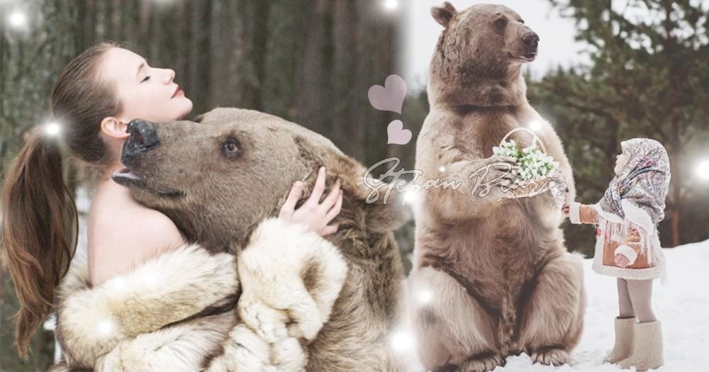 「真實版小熊維尼」最愛吃乳酪!俄羅斯攝影師「反狩獵」發佈夢幻美照~