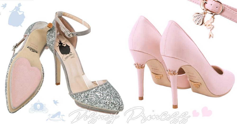 日妞來台大掃貨!「迪士尼公主鞋」太夢幻~連鞋底都有皇冠穿上一秒變身公主!