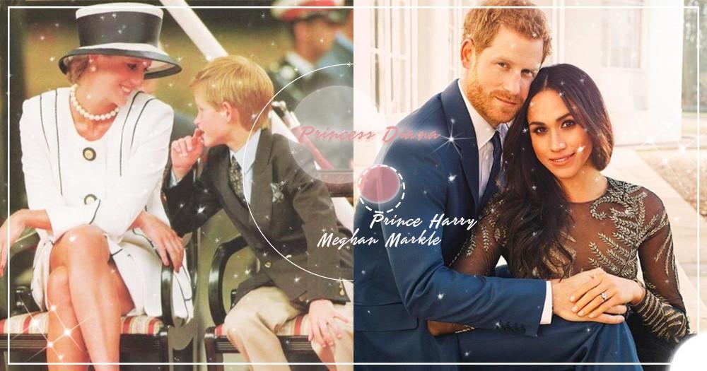 「多希望你也在」!盤點梅根婚禮這3大感人哭點,哈利這樣表達對黛安娜王妃的思念~