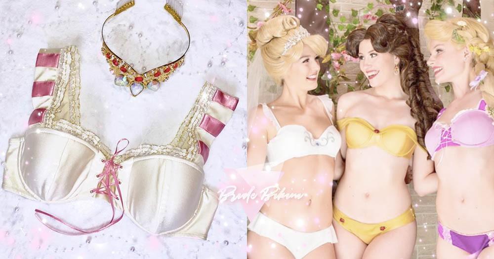 「迪士尼公主泳池派對」席捲歐美新嫁娘IG!有了公主比基尼從此和閨蜜美照拍不完~
