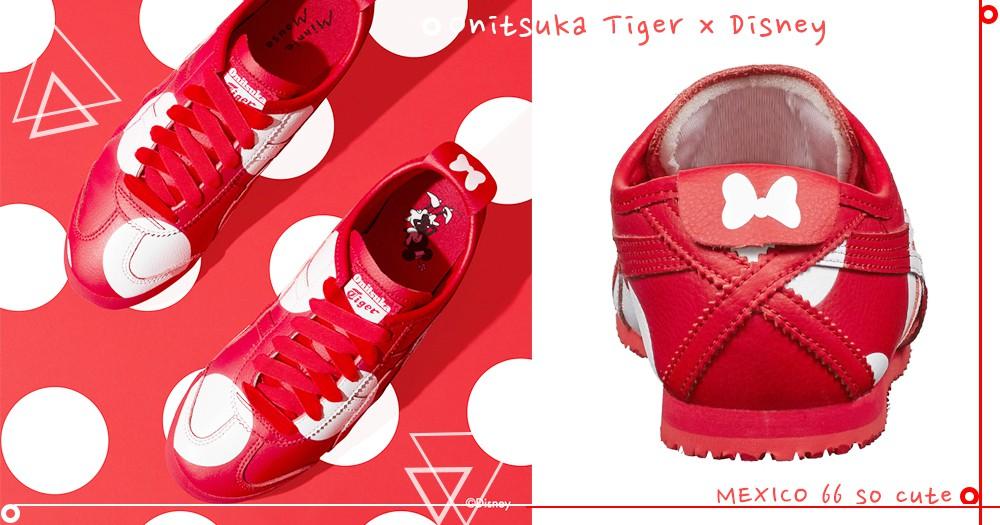 米奇控看過來!「Onitsuka Tiger x DISNEY」系列太夢幻,讓女孩夏天出遊超搶眼~