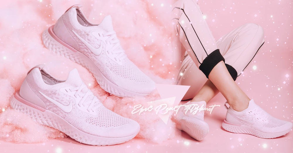 NIKE棉花糖美鞋又一波!最新「雲朵泡泡」慢跑鞋讓妳輕鬆化身甜美小公主~