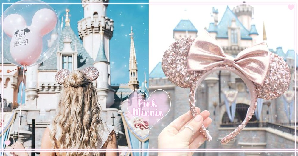 「是玫瑰金!」迪士尼新品「米妮髮箍」太燒心,一戴上迪士尼將成為妳的主場,粉紅爆表~