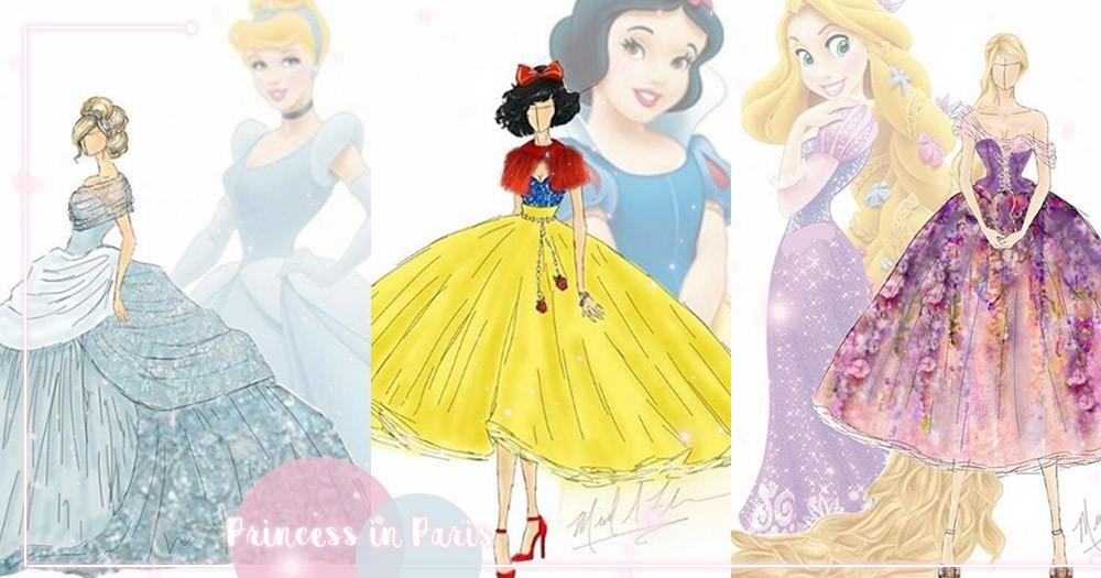 公主也來走紅毯!「睡美人」粉x藍漸層魚尾裙驚艷、樂佩花裙仙氣太逼人~