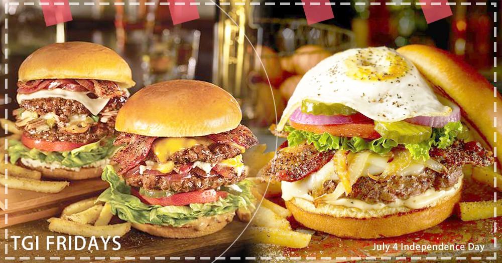 肉食系女孩看過來!FIRDAYS 6款大漢堡連4週買一送一~就是要你「吃堡吃滿」