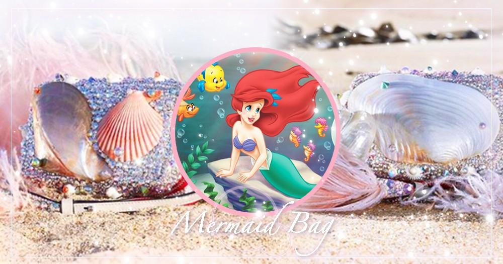 超夢幻「美人魚公主包」推特熱議!歐美夏季潮流女孩爆款新寵就是它♡