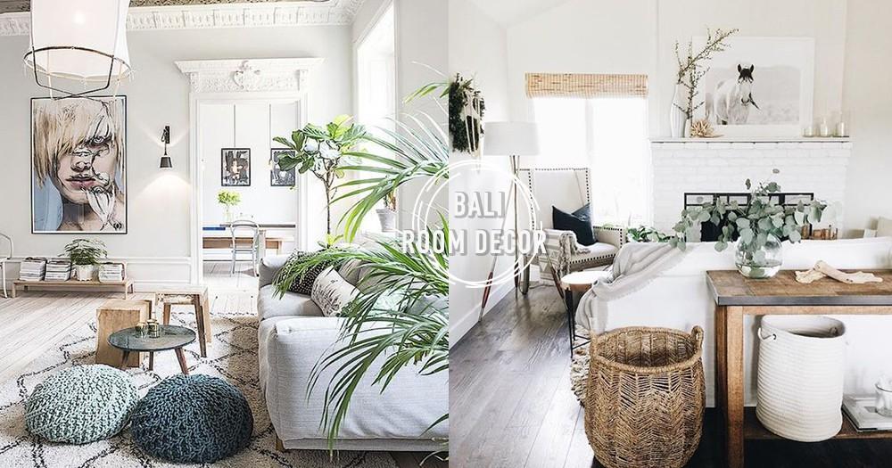 出不了國也沒關係!記住這4點DIY改造房間~輕鬆變身峇里島風真的不是夢♡