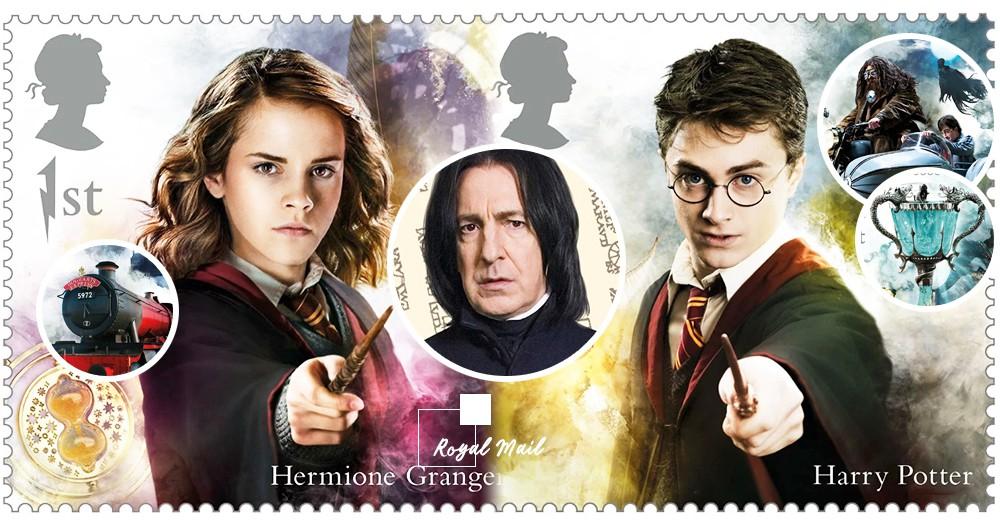 全球《哈利》迷瘋搶!英國皇家郵政推出限定「哈利波特郵票」~滿滿的都是童年回憶♡