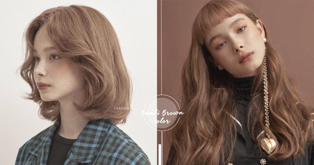 韓妞秋冬指定色!SNS熱議「#楓糖斑比棕」不只超顯白還能變身混血洋娃娃♡