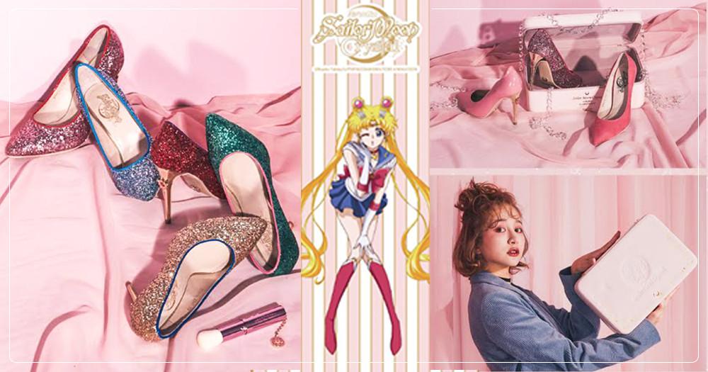 美戰迷注意!Grace gift「美少女戰士」第2彈10/24上市~奢華加贈珠寶盒、化妝刷♡