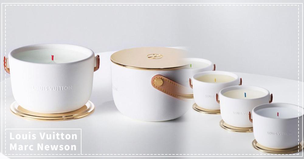 LV推奢華「香氛蠟燭」!請來鬼才設計師Marc Newson設計包裝~網友:「很適合泡泡麵!」