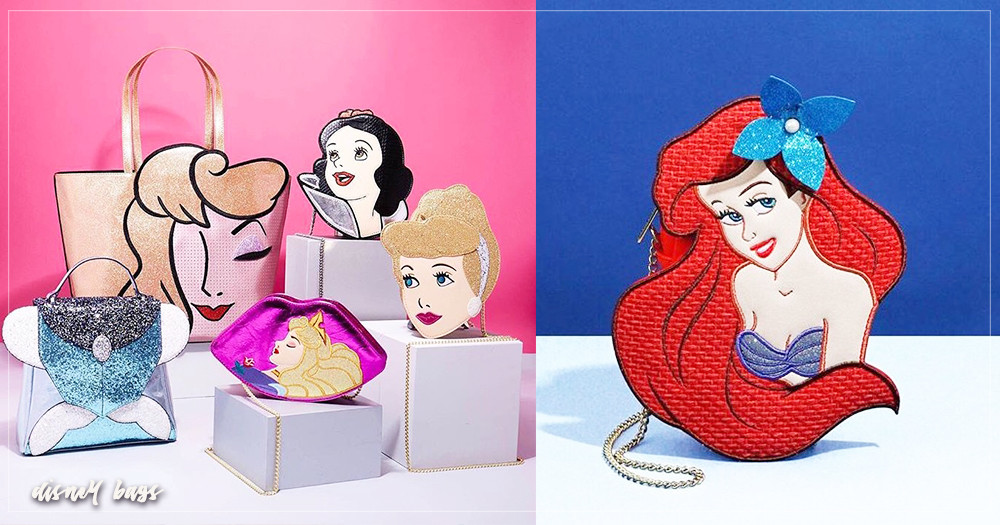 迪士尼控尖叫吧!熱搜6款「此生必收」超可愛迪士尼「公主系列」包包,個性設計讓人每款都想要帶回家♡