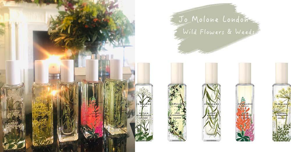 Jo Malone 3月限定全新香氛來了!全新香味+花朵瓶身太清新~噴上絕對是自帶小仙女光圈