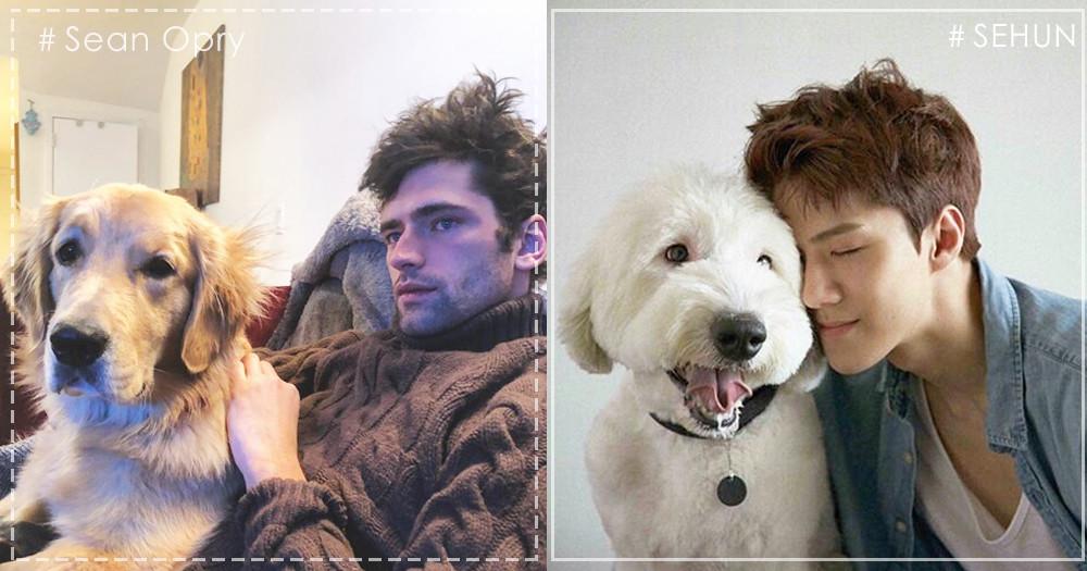 愛狗的男子最帥!韓媒票選4位「世界上最性感的狗爸」~Sexy到我口水都要流出來惹♥