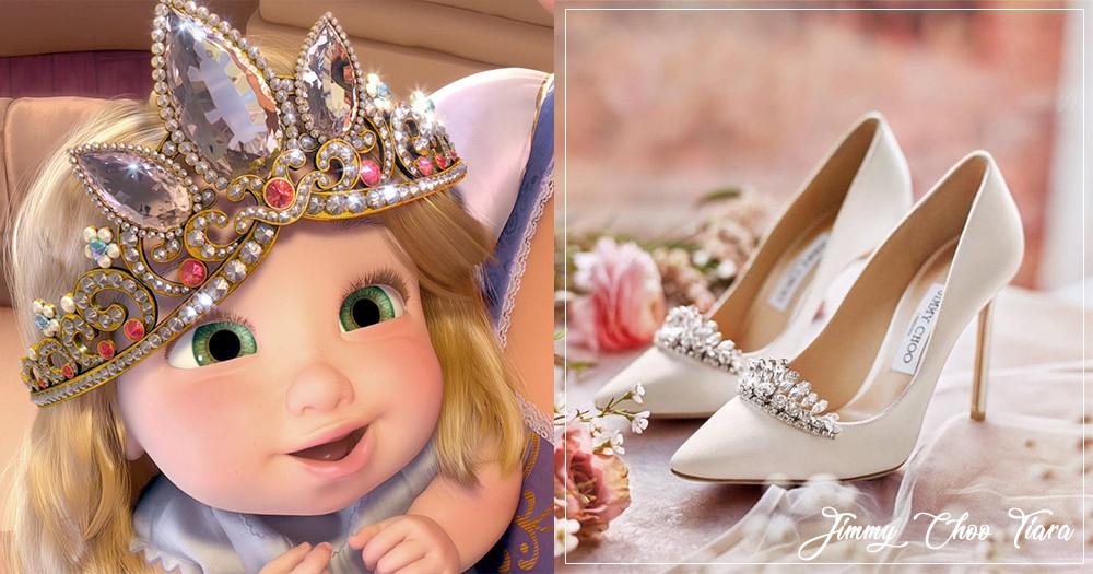 為妳的幸福戴上后冠!Jimmy Choo訂製閨蜜「 公主婚鞋」陪妳迎接「公主→女王」蛻變歷程♡