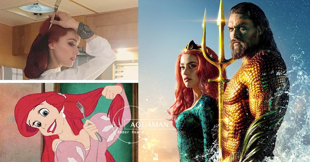 乘載七海狂怒而來!《水行俠》今上映「梅拉」激似愛麗兒、妮可基嫚美哭觀眾~DC粉:必2刷♡