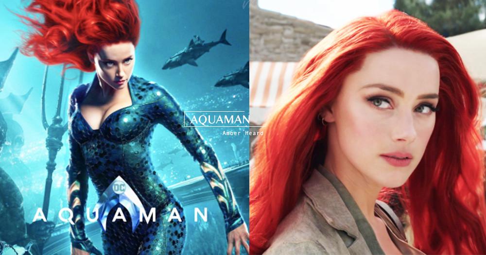 亞特蘭提斯之后!《水行俠》安柏赫德絕美「梅拉公主」登DC最美女英雄~導演:她成就了亞瑟♡