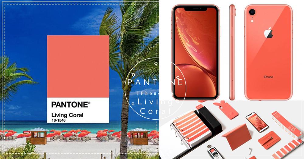2019年PANTONE色公開~絕美Living Coral「活珊瑚橘」!網驚:「iPhone XR走在時尚尖端!」