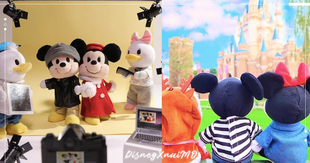 推特瘋狂洗版!日本迪士尼換裝娃娃「nuiMOs」系列~就是要天天幫米奇&米妮換新衣、去旅行♡