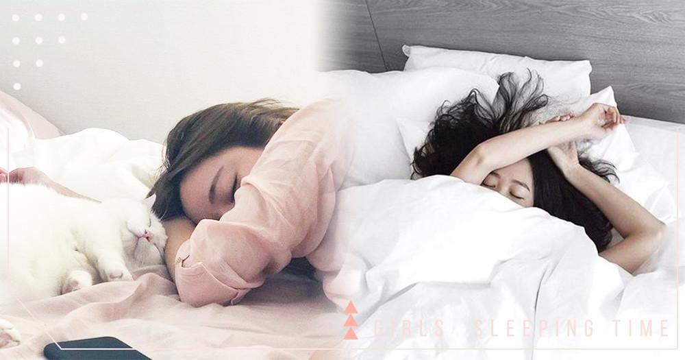 賴床有理,嗜睡無罪!研究證實「女生比男生更需要睡眠」~早餐什麼的就給男友去買吧♡