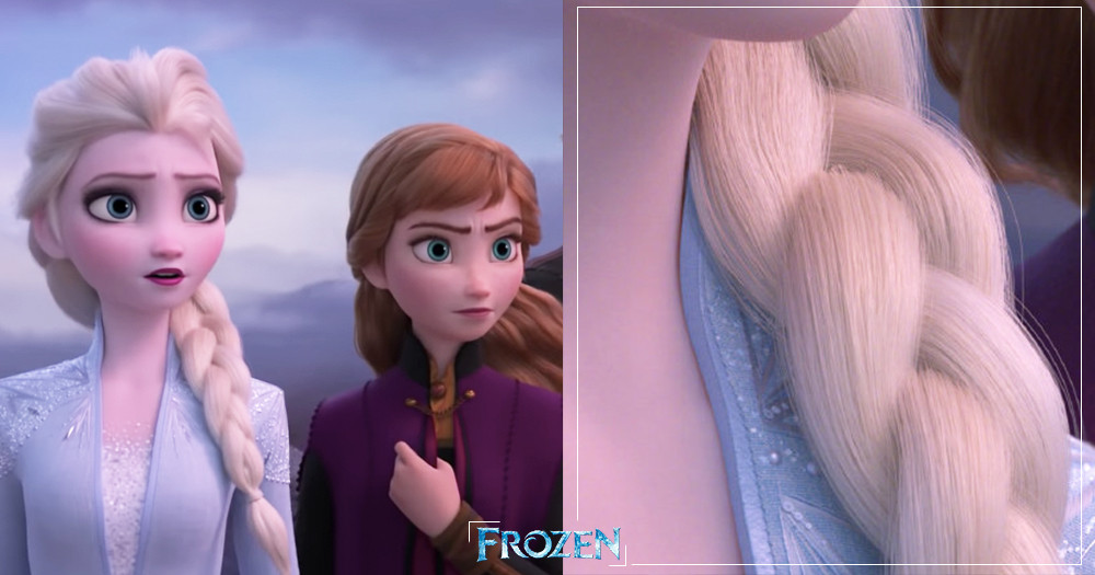 不怕放大看!《冰雪奇緣2》前導預告藏「梗圖彩蛋」~艾莎髮絲、絕美禮服縫線全都超精緻♡