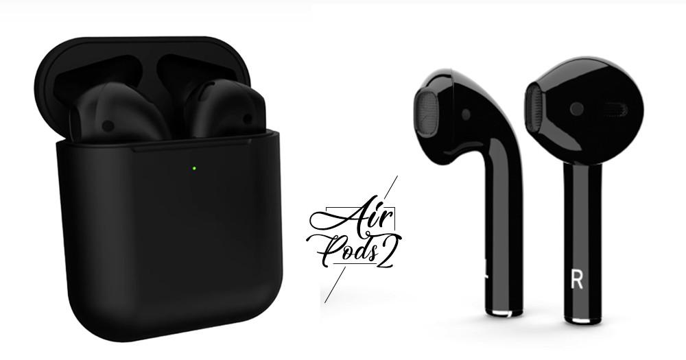 霸氣總裁必備!第2代黑色「AirPods」防水、防噪音「7大功能」升級~還內建心跳檢測♡