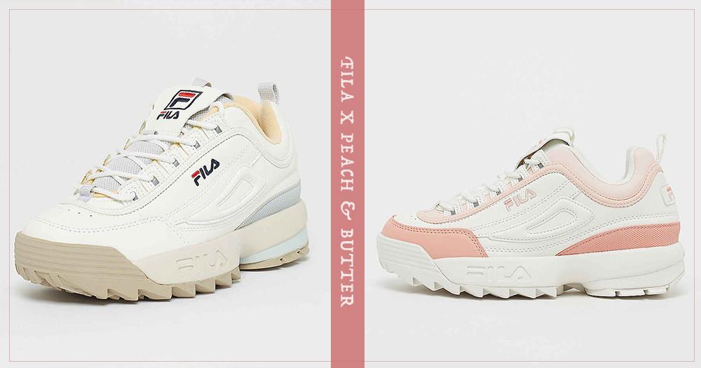 夢幻指數破表!FILA老爹鞋推出新色「奶霜蜜桃」、「粉霧寶寶藍」,春天就是要買這種粉嫩色啊~