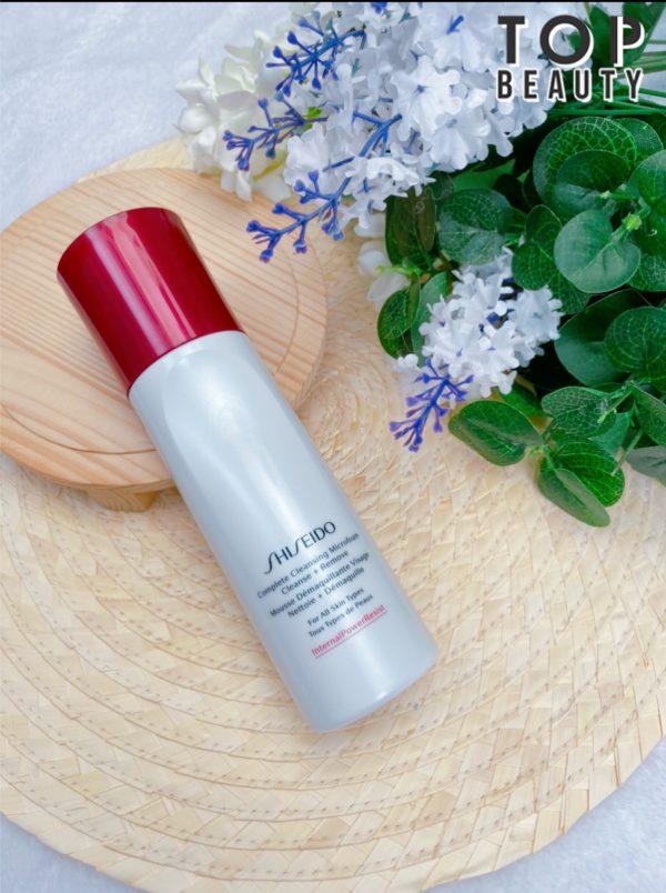 Shiseido全效防禦潔面泡沫