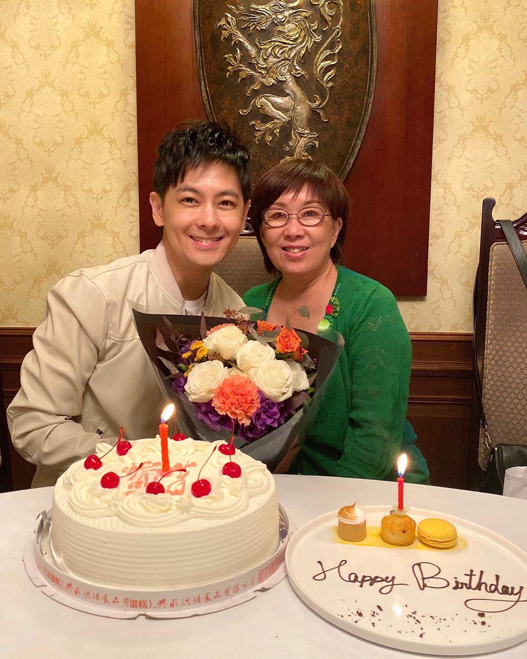 林志穎媽媽生日